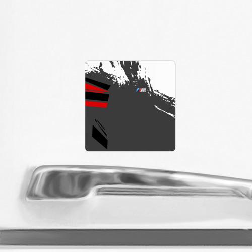 Магнит виниловый Квадрат  Фото 02, BMW 2018 M Sport