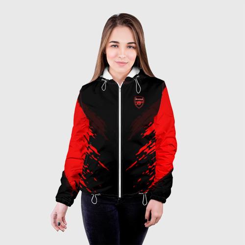 Женская куртка 3D  Фото 03, ARSENAL 2018 SPORT