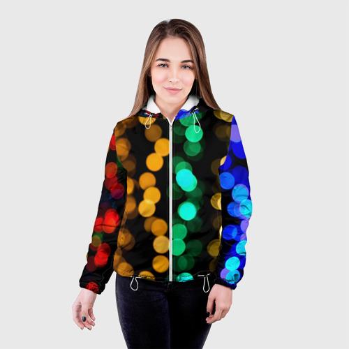 Женская куртка 3D  Фото 03, Festive style