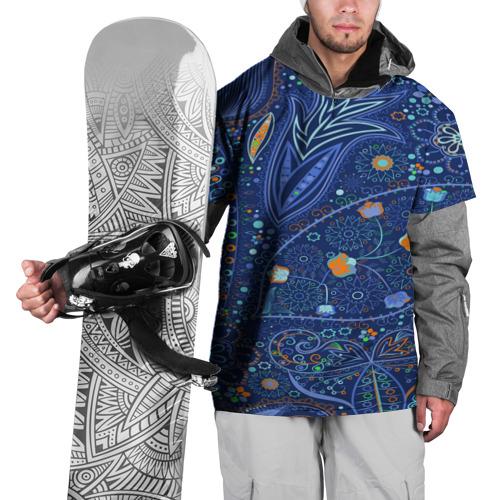 Накидка на куртку 3D  Фото 01, Турецкие узоры