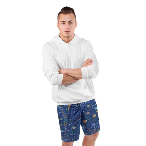 Мужские шорты 3D спортивные  Фото 05, Турецкие узоры