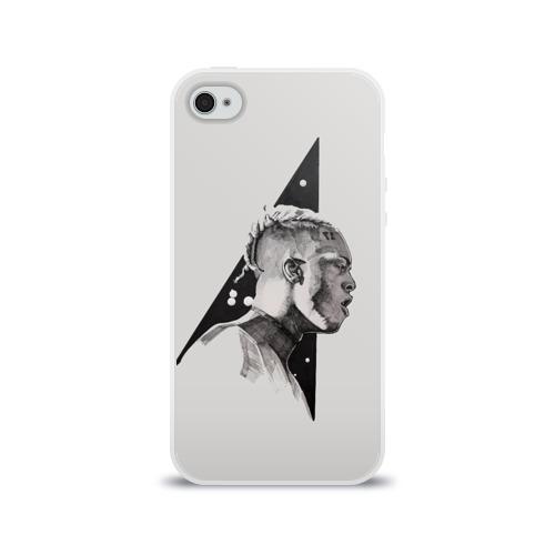 Чехол для Apple iPhone 4/4S силиконовый глянцевый  Фото 01, XXXtentacion