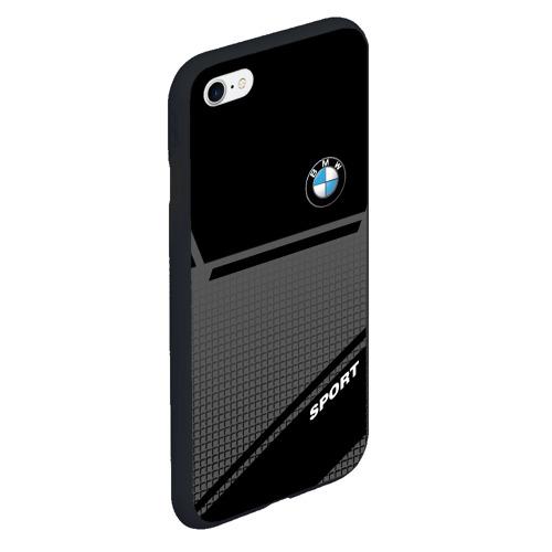 Чехол для iPhone 6Plus/6S Plus матовый BMW SPORT    Фото 01