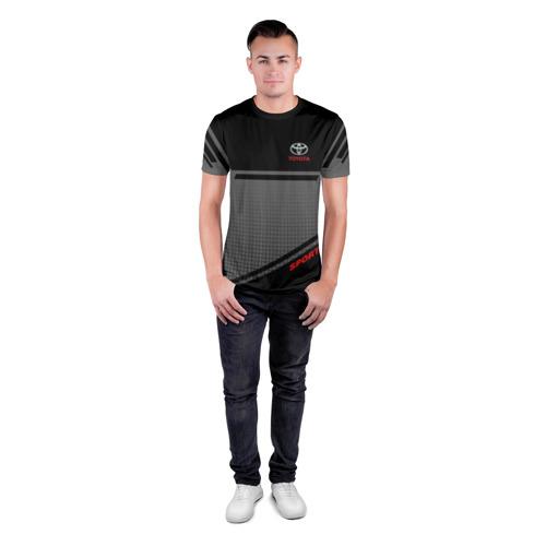 Мужская футболка 3D спортивная TOYOTA | ТОЙОТА Фото 01