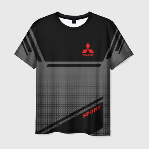 Мужская футболка 3D MITSUBISHI SPORT Фото 01