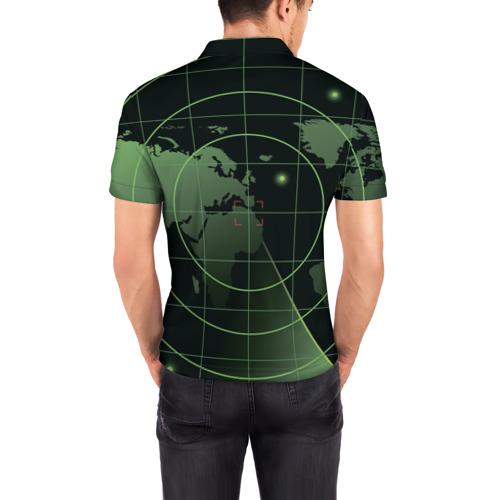 Мужская рубашка поло 3D  Фото 04, ВВС России