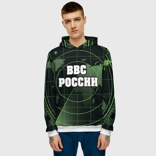 Мужская толстовка 3D  Фото 03, ВВС России