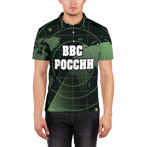 Мужская рубашка поло 3D  Фото 03, ВВС России