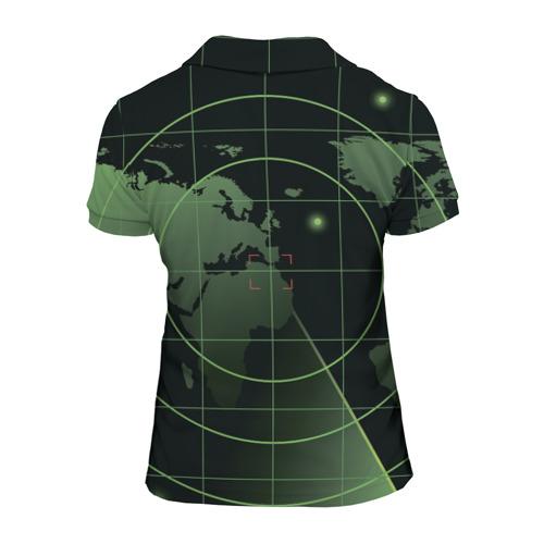 Женская рубашка поло 3D МЧС Фото 01