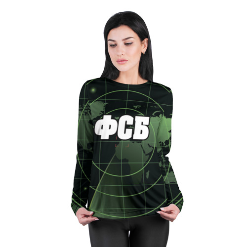 Женский лонгслив 3D для беременных  Фото 04, ФСБ