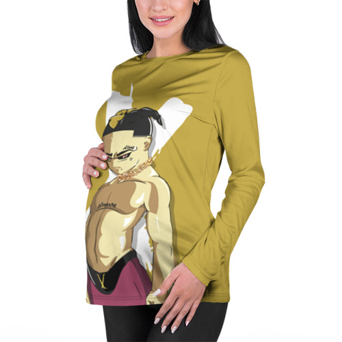 Женский лонгслив 3D для беременных  Фото 01, XXXtentacion / Anime