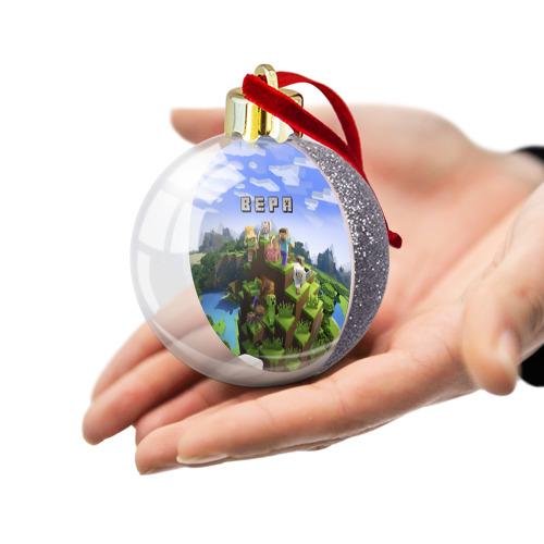 Ёлочный шар с блестками  Фото 03, Вера - Minecraft