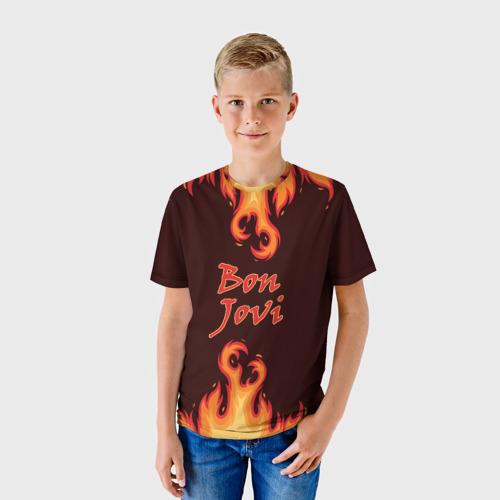 Детская футболка 3D  Фото 01, Bon Jovi