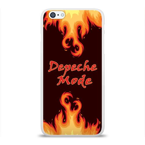 Чехол для Apple iPhone 6Plus/6SPlus силиконовый глянцевый  Фото 01, Depeche Mode