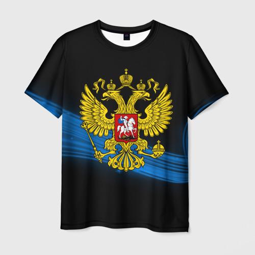 Мужская футболка 3D Россия
