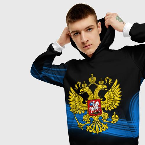 Мужская толстовка 3D  Фото 01, Россия