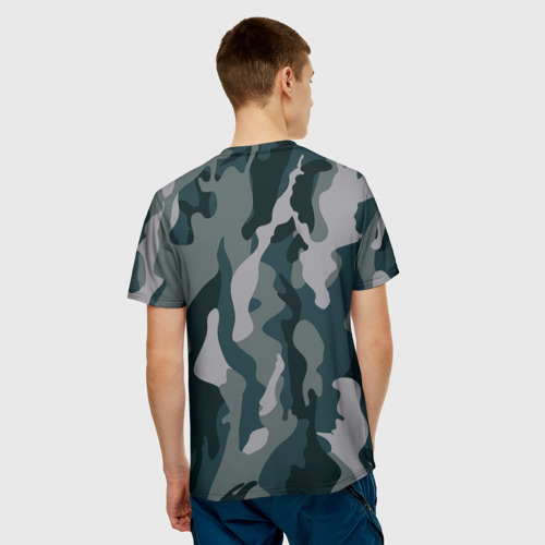 Мужская футболка 3D 'камуфляж'