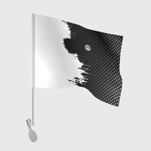 Флаг для автомобиля Borussia uniform black 2018