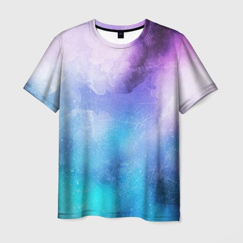 Мужская футболка 3D  Фото 01, Акварель