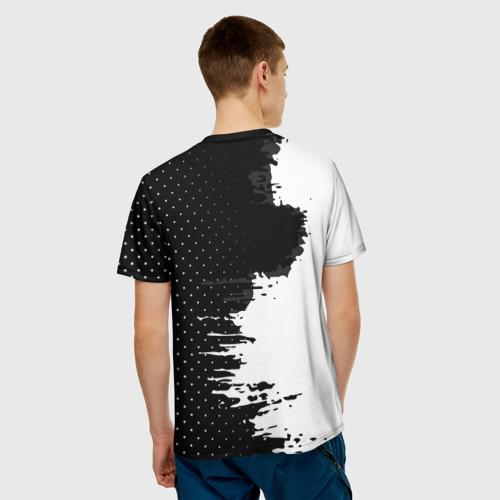 Мужская футболка 3D  Фото 02, Juventus uniform black 2018
