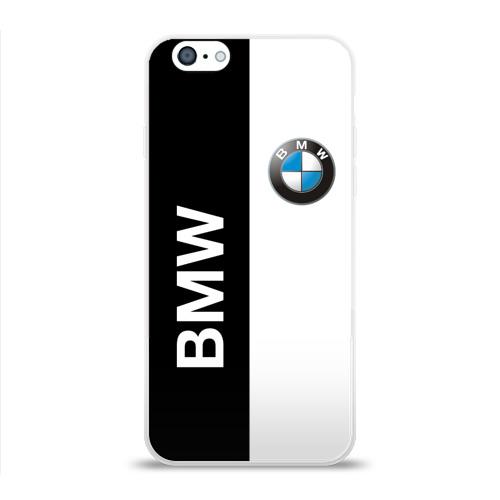 Чехол для Apple iPhone 6 силиконовый глянцевый BMW Фото 01