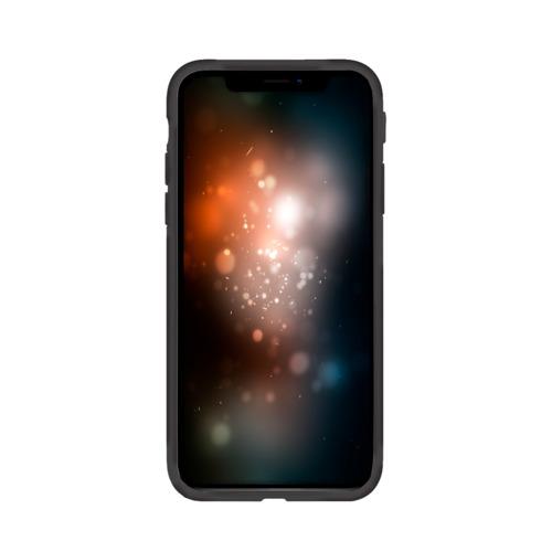 Чехол для Apple iPhone X силиконовый матовый BMW Фото 01