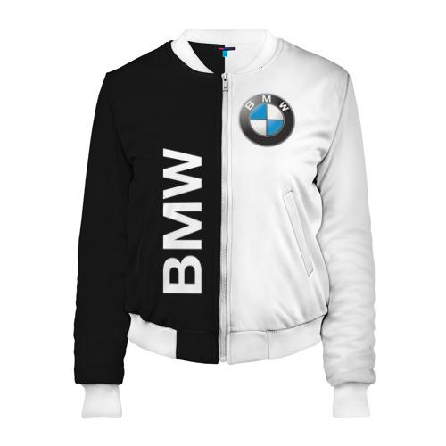 Женский бомбер 3D BMW