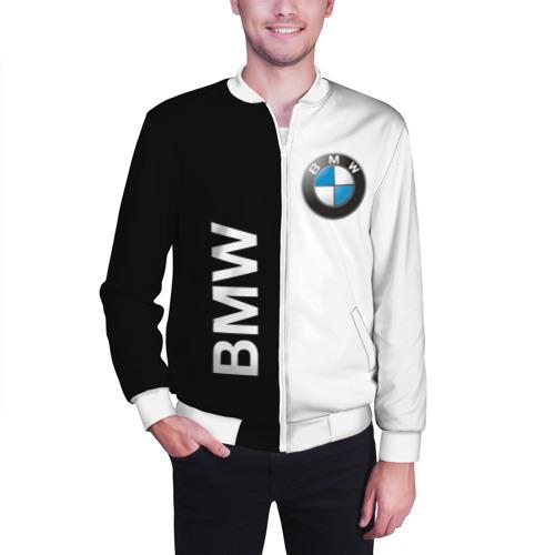 Мужской бомбер 3D  Фото 03, BMW