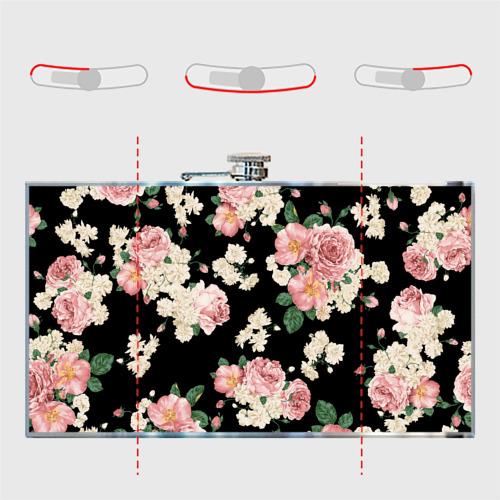 Фляга 'Flowers Pattern'