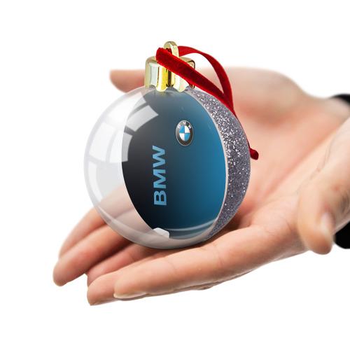 Ёлочный шар с блестками  Фото 03, BMW