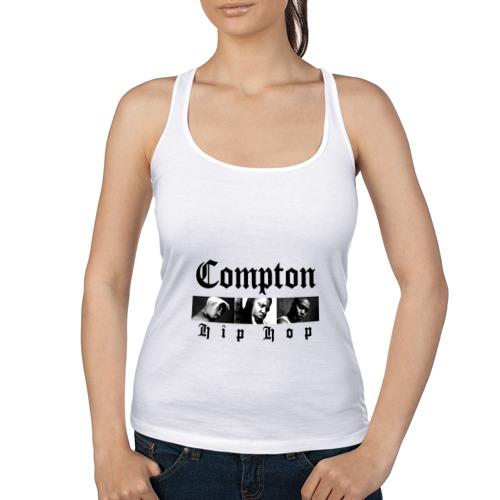 Женская майка борцовка  Фото 01, Compton hip hop