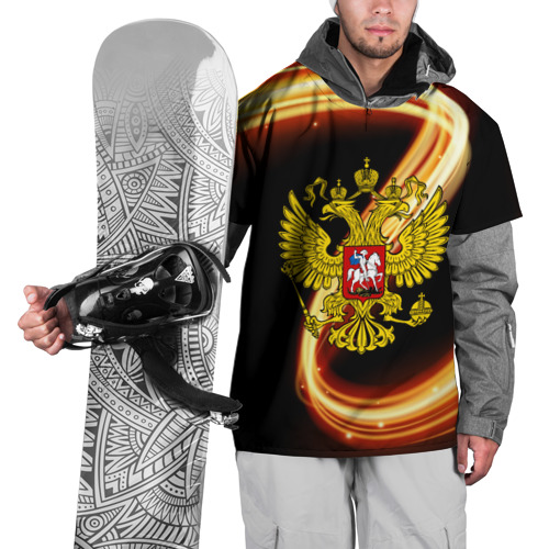 Накидка на куртку 3D  Фото 01, Герб РФ collection line