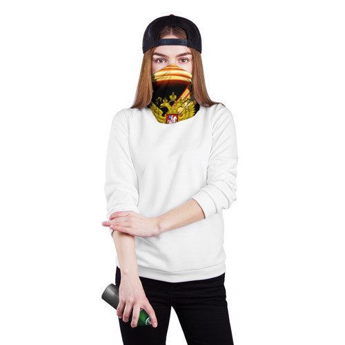 Бандана-труба 3D  Фото 02, Герб РФ collection line