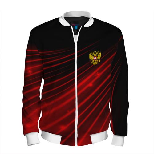 Мужской бомбер 3D  Фото 01, Russia Sport 2018 uniform