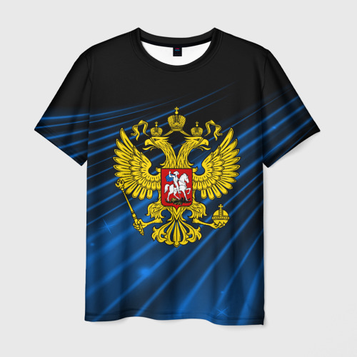 Мужская футболка 3D Russia abstract collection