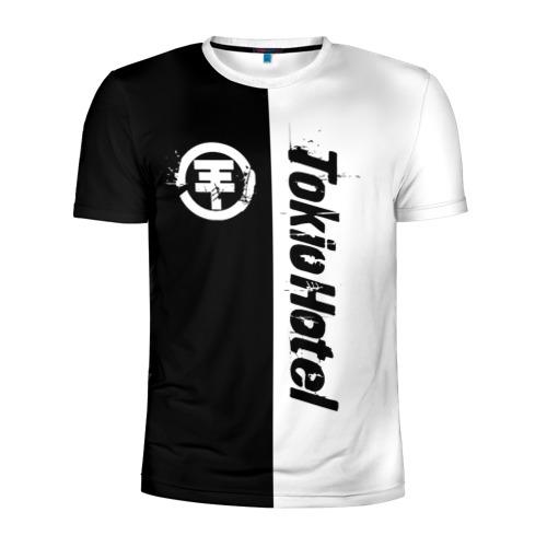 Мужская футболка 3D спортивная  Фото 01, Tokio Hotel
