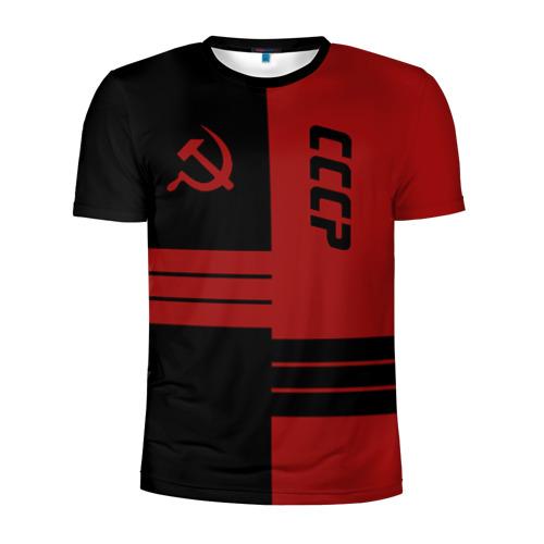 Мужская футболка 3D спортивная СССР