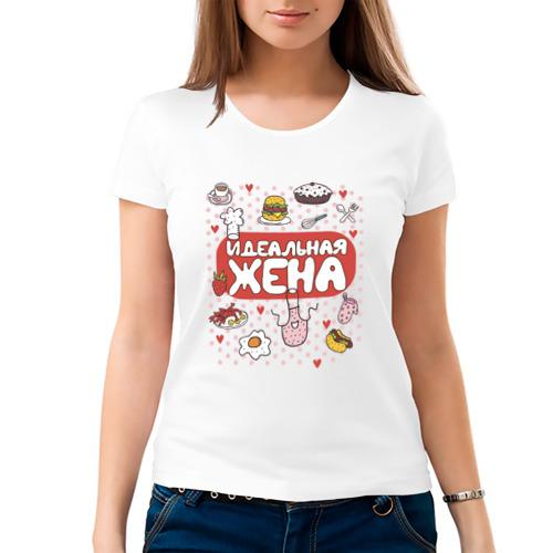 Женская футболка хлопок  Фото 03, Идеальная Жена