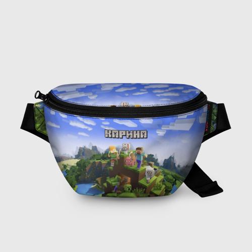 Поясная сумка 3D Карина - Minecraft Фото 01