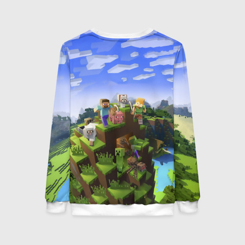 Женский свитшот 3D Карина - Minecraft Фото 01