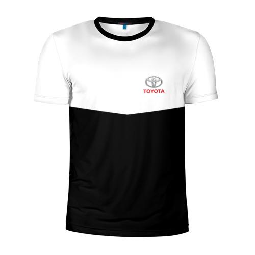 Мужская футболка 3D спортивная TOYOTA SPORT