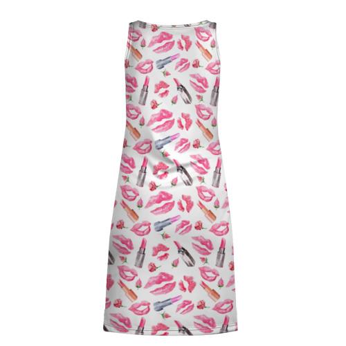 Платье-майка 3D  Фото 02, Lips and roses