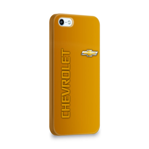 Чехол для Apple iPhone 5/5S 3D  Фото 02, Chevrolet