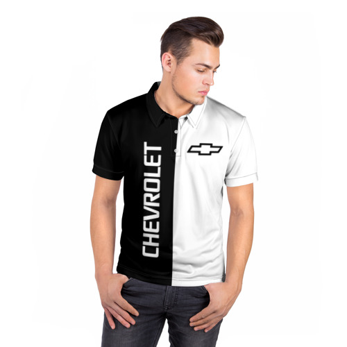Мужская рубашка поло 3D  Фото 05, Chevrolet