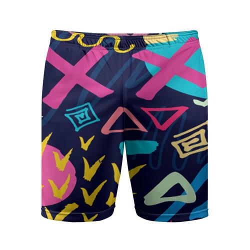Мужские шорты 3D спортивные Pattern abstract