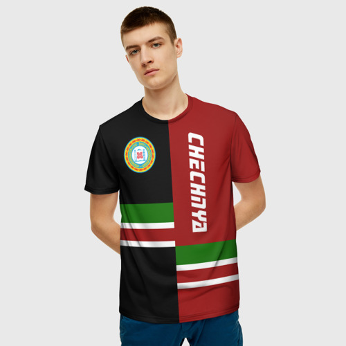 Мужская футболка 3D CHECHNYA (Чечня) Фото 01