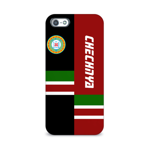 Чехол для Apple iPhone 5/5S 3D  Фото 01, CHECHNYA (Чечня)
