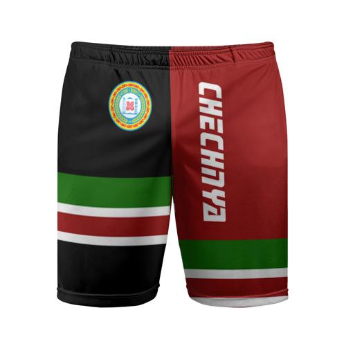 Мужские шорты 3D спортивные CHECHNYA (Чечня)