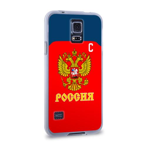 Чехол для Samsung Galaxy S5 силиконовый  Фото 02, Овечкин Сборная России по хоккею