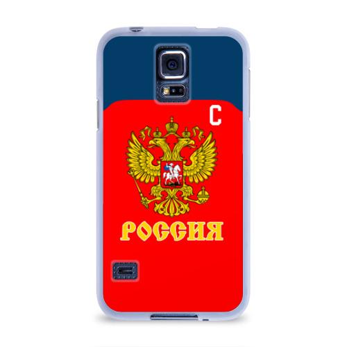 Чехол для Samsung Galaxy S5 силиконовый  Фото 01, Овечкин Сборная России по хоккею